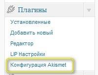 Жизненно важный минимум или Два самых необходимых плагина для русскоязычного блога (часть первая: Akismet) | n-wp.ru