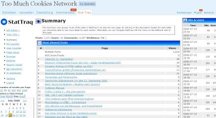 Как измерить посещаемость блога | wp-stattraq