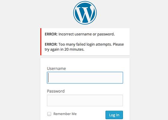 Как защитить свой блог от Brute Force атак | Limit Login Attempts
