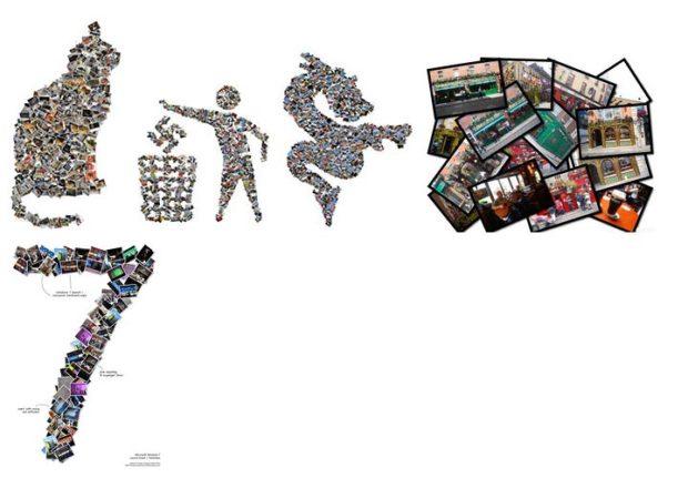 Как создать коллаж из фотографий | Shape Collage Online