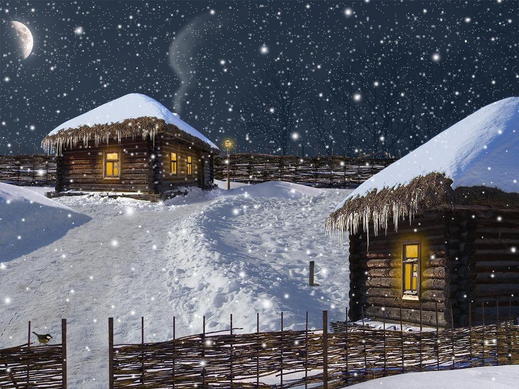 Как сделать падающий снег | n-wp.ru