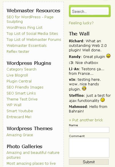 Как сделать стену наподобие Вконтакте | WP Wall | n-wp.ru