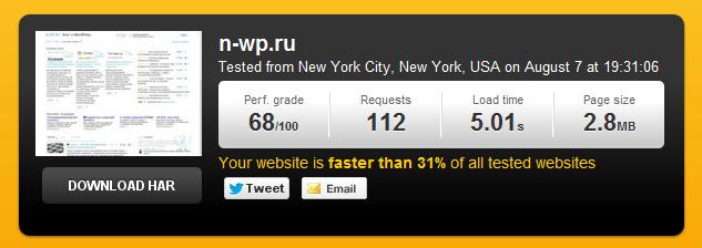 Как проверить скорость загрузки вашего сайта | Pingdon Tools (4)