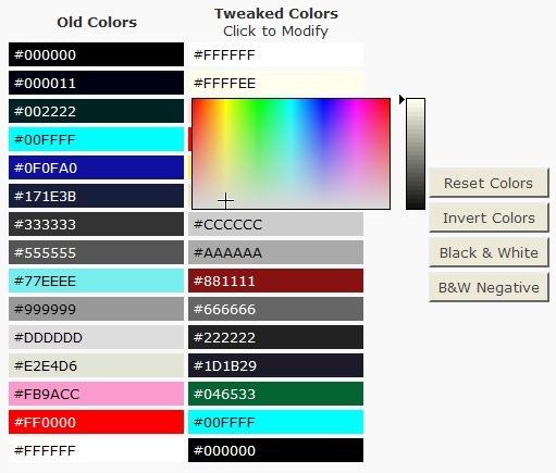 Как изменить цвета темы | Theme Tweaker