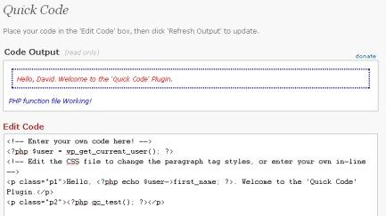 Как работать с кодом HTML | Quick Code | n-wp.ru