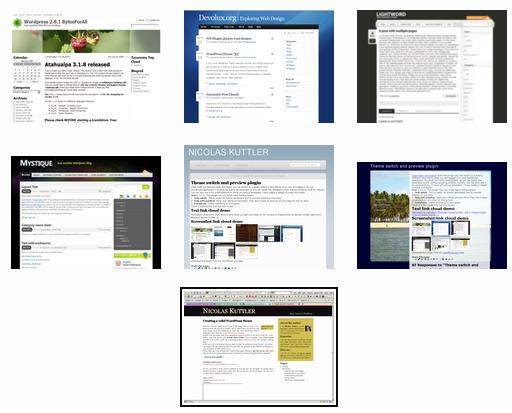 Как сделать просмотр тем блога | Theme switch and preview plugin | n-wp.ru