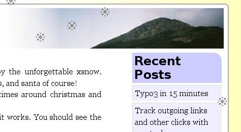 Как украсить блог к празднику | Snow, balloons and more | n-wp.ru
