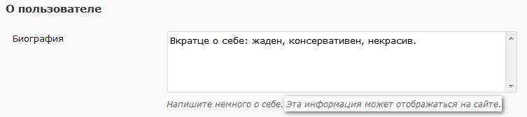 Как вывести информацию об авторе | n-wp.ru