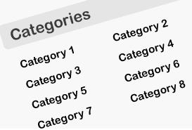 Как вывести категории в две колонки | n-wp.ru