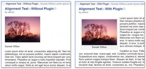 Как оставить в RSS оригинальное расположение изображений | Align RSS Images | n-wp.ru