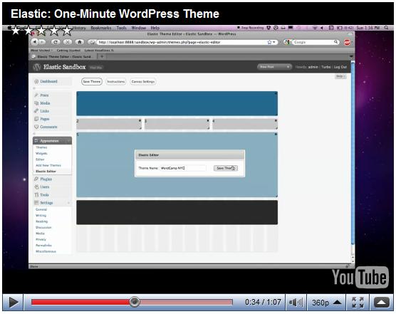 Как создать тему Wordpress за одну минуту | Elastic | n-wp.ru