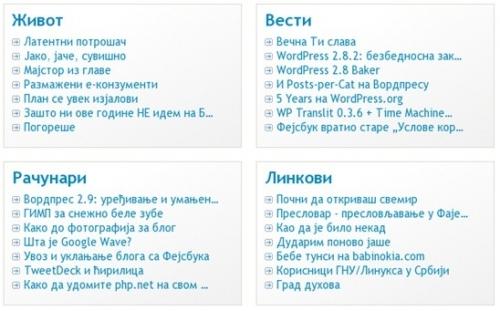 Как вывести список постов по категориям | Posts per Cat | n-wp.ru