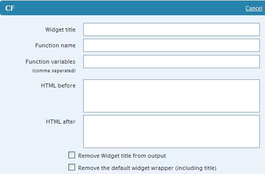 Как выполнить произвольный PHP код в сайдбаре | Custom Function Widgets | n-wp.ru