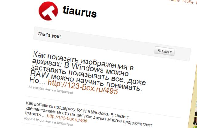 Как вывести последнее сообщение из Твиттера без плагинов   n-wp.ru