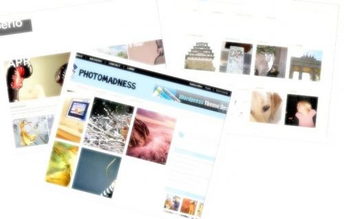 Три светлые темы для фотоблога | n-wp.ru