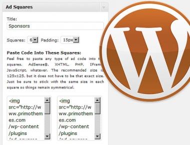 Как добавить баннеры | Ad Squares Widget | n-wp.ru