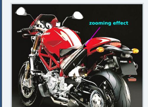 Как увеличить выделенную область изображения в посте | Image Zoomer | n-wp.ru