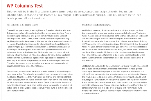 Как выводить текст поста в несколько колонок | WP Columns | n-wp.ru