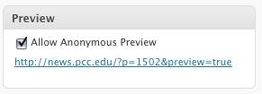 Как дать возможность анонимным пользователям посмотреть еще не опубликованный пост | Simple Preview | n-wp.ru