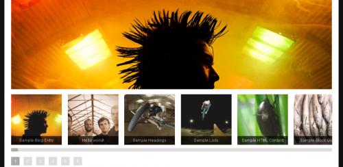 Отличная тема для фото-блога | Monochrome Gallery | n-wp.ru