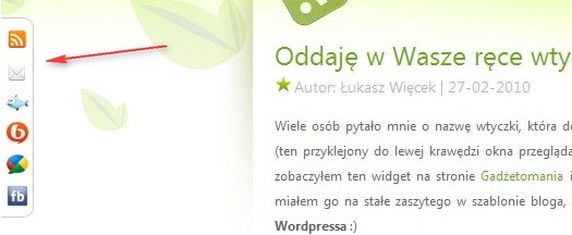 Как добавить закладки на социальные сервисы | Social Slider | n-wp.ru
