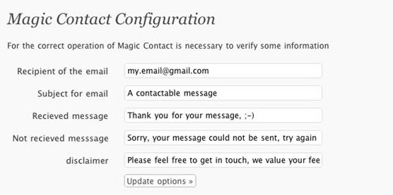 Как сделать оригинальную контактную форму | Magic Contact