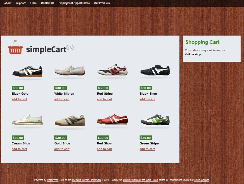 Торговая тема | SimpleCart(js) | n-wp.ru