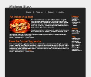 Минималистичная тема Minimus | n-wp.ru