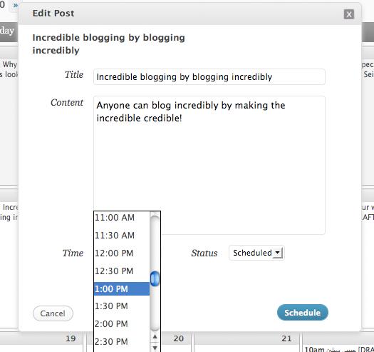 Как сделать календарь для редакторов   Editorial Calendar