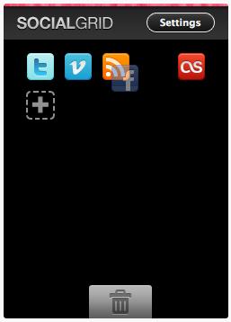 Как добавить ваши социальные статусы в блог | SocialGrid