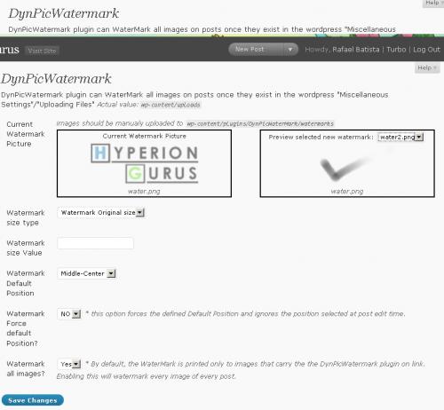 Как автоматически добавлять водяные знаки на изображения в блоге | DynPicWaterMark | n-wp.ru