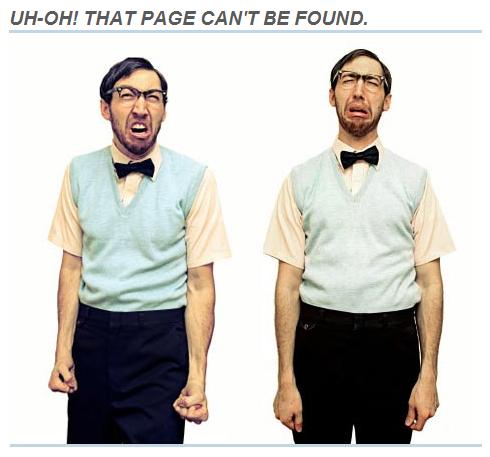 Как использовать собственные страницы ошибок