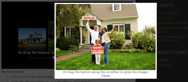 Как вывести изображения из папки | WP-ImageFlow2