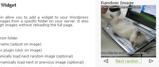 Как вывести случайную картинку | Grou Random Image Widget | n-wp.ru