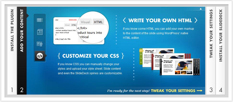 Как создать крутейший слайдер для презентаций | SlideDeck