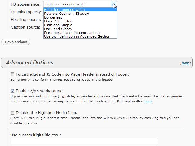 Как красиво вывести большие изображения | Highslide 4 WordPress
