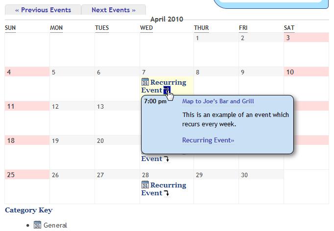 Как сделать красивый календарь записей | My Calendar | n-wp.ru