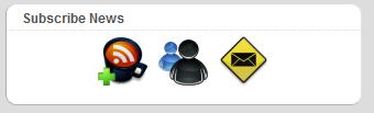 Как вывести кнопки подписки | Subscribe Widget | n-wp.ru