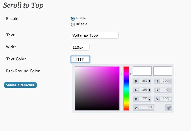 Как сделать красивую ссылку наверх | Scroll to Top | n-wp.ru