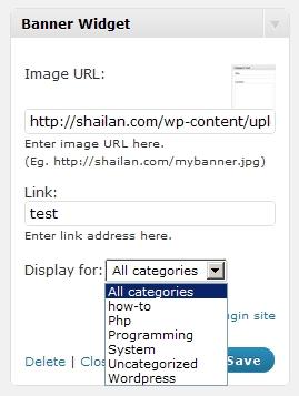 Как легко добавить баннер в сайдбар | Image Banner Widget | n-wp.ru