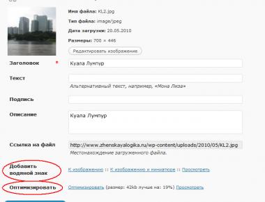 Как нанести водяные знаки и оптимизировать изображение   Easy Watermark and Images Optimize   n-wp.ru