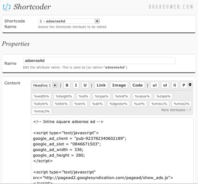 Как самостоятельно сделать шорткод | Shortcoder | n-wp.ru