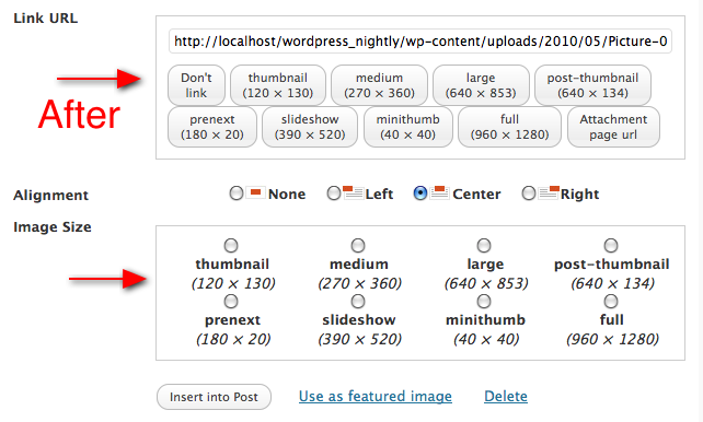 Как добавить больше вариантов миниатюр в WordPress | SuperSlider-Media-Pop