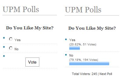 Как организовать голосование | UPM Polls | n-wp.ru