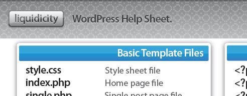 Где найти шпаргалки по WordPress