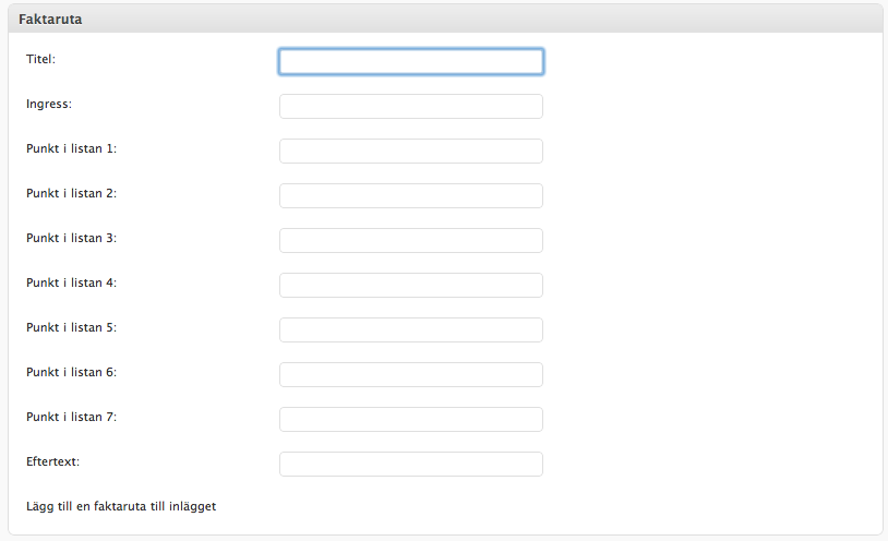 Как добавить в пост отдельный информер | WP Infobox