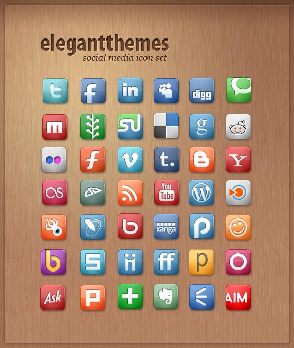 Бесплатные наборы качественных иконок для оформления вашего блога | n-wp.ru
