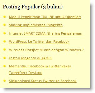 Как вывести популярные посты | Ranged Popular Posts | n-wp.ru