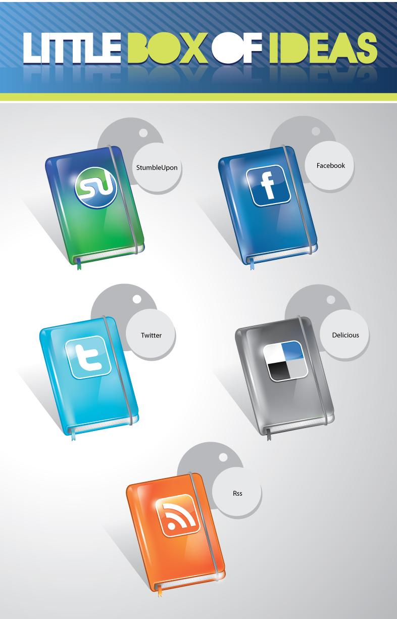 Бесплатные наборы качественных иконок для оформления вашего блога