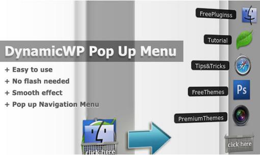 Как сделать красивое меню | DynamicWP Pop-Up Menu | n-wp.ru